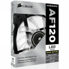 Corsair AF120 Quiet Edition LED White,120mm, 3pin, 1500 RPM hűtőventillátor