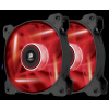 Corsair Air Series AF120Q Red Quiet Edition Twin Pack