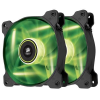 Corsair Air Series SP120 LED TwinPack Green High Static Pressure 120mm
