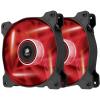 Corsair Air Series SP120 LED TwinPack Red High Static Pressure 120mm