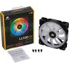 Corsair LL140 RGB LED Static Pressure 140 mm, PWM, single fan hűtő ventilátor