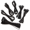 Corsair Premium Sleeved SF kábel szett - fekete /CP-8920202/