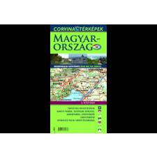 Corvina Kiadó Magyarország idegenforgalmi autóstérképe, 1:450000 térkép
