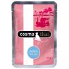 Cosma 6x100g Cosma Thai nedves macskatáp frissentartó tasakban - Vegyes csomag (6 változattal)