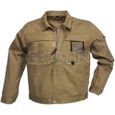 Coverguard CLASS barna munkaruhák nagy igénybevételre, kabát, cipzáras, plusz patentos, 8 zseb + plusz...