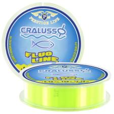 Cralusso FLUO SÁRGA PRESTIGE (150M) QSP-VEL 0,22MM horgászzsinór