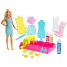 Crayola Barbie Crayola: Színvarázs - Ruhafestő állomás babával készségfejlesztő