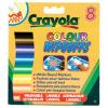 Crayola Core - 8 db lemosható vastag filc fehér táblára