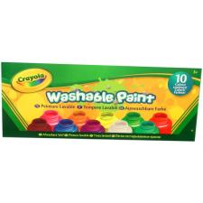 Crayola Crayola: 10 db lemosható festék kreatív és készségfejlesztő