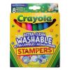 Crayola Crayola: kimosható filctoll nyomda - 8 darabos