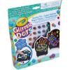 Crayola Glitteres Dekorgyöngyök: Mozaikkép készlet