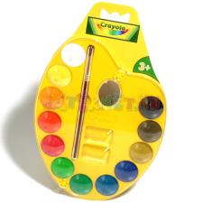 Crayola : Palettás vízfesték készlet kreatív és készségfejlesztő