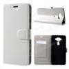 CRAZY notesz tok / flip tok - FEHÉR - asztali tartó funkciós, oldalra nyíló, rejtett mágneses záródás, bankkártya tartó zsebekkel, szilikon belsõ - ASUS Zenfone 3 Deluxe (ZS550KL)