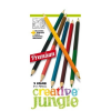 CREATIV JUNGLE SZÍNESCERUZA CREATIVE JUNGLE 12DB-OS DUPLA PRÉMIUM