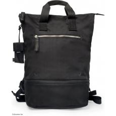 CRUMPLER - Doozie Photo Backpack black / metallic silver