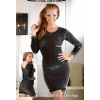Csillogó ruha - feketeezüst