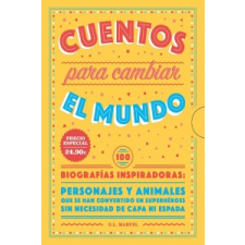 CUENTOS PARA CAMBIAR EL MUNDO – G.L. MARVEL idegen nyelvű könyv