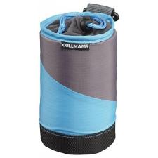 Cullmann Lens Container M-es objektív tok (fekete/ciánkék) fotós táska, koffer