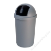 CURVER Billenős szemetes, 45 l, CURVER Bullet, ezüst-fekete (UCB50)