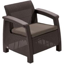 CURVER Corfu II kerti szék barna kerti bútor