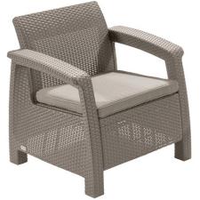 CURVER Corfu II kerti szék cappuccino kerti bútor