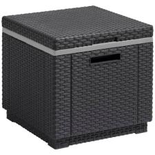 CURVER Ice Cube multifunkciós tároló; asztal és puff kerti bútor