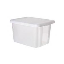 """CURVER Tárolódoboz, tetővel, 26 l, áttetsző,  """"Essentials"""" papírárú, csomagoló és tárolóeszköz"""