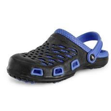 CXS Trend férfi papucs, fekete/kék, méret: 44