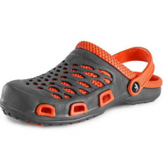CXS Trend férfi papucs, szürke/narancssárga, méret: 44