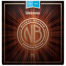 D´Addario NB1253 Nickel Bronze Acoustic Light 12-53 húr