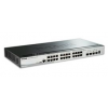 D-Link 28-Port Gigabit Stackable Smart Managed Switch including 2 10G SFP+ and 2 SFP ports (smart fans)  (DGS-1510-28)