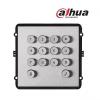 Dahua VTO2000A-K billentyűzet bővítő modul VTO2000A-C moduláris IP video kaputelefon kültéri egységhez