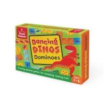 Dancing Dinos Dominoes idegen nyelvű könyv