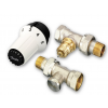 Danfoss Panda termosztatikus radiátorszelep egyenes szett RA-FN, RLV-S