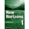 Daniela Simons, Paul Radley NEW HORIZONS 1 HUNGARIAN WORKBOOK