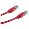 Datacom Adatátviteli, CAT6, UTP, 0,25 m piros