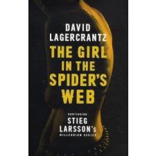 David Lagercrantz The Girl in the Spider's Web idegen nyelvű könyv