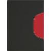 DAYLINER Zsebnaptár, fekvo elrendezésű, Memphis, fekete-piros