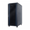 DBX START.LAN álló szekrény 19 27U 600x1000mm fekete