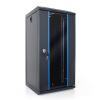 DBX START.LAN rack wall-mount cabinet 10 12U 312x300mm black (glass front door)