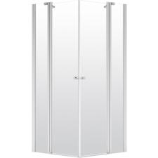 Deante Alpinia szögletes nyílóajtós zuhanykabin átlátszó üveggel, 90x90 cm kád, zuhanykabin
