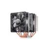 Deepcool DeepCool CPU Cooler - NEPTWIN V2.0 (17,8-30dB; max. 126,30 m3/h; 4pin csatlakozó; 6 db heatpipe, 2x12cm, PWM, Kék LED)