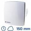 DEKOR ventilátor fehér, LDTHL (150 mm) idők., páraérz., görd.cs