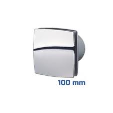 DEKOR ventilátor króm, LDA (100 mm) alap típus villanyszerelés