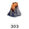 Dekoráció T303 vulkán