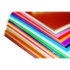 . Dekorkarton, 1 oldalas, 48x68, sötétkék kreatív és készségfejlesztő