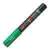 Dekormarker UNI POSCA PC-1M 0.7-1 mm, kúpos, ZÖLD