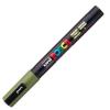 Dekormarker UNI POSCA PC-3M 0.9-1.3 mm, kúpos, KHAKI