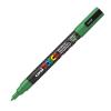 Dekormarker UNI POSCA PC-3M 0.9-1.3 mm, kúpos, ZÖLD