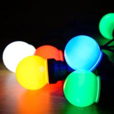 Dekortrend Taverna fénysor 5 színes égő világítás